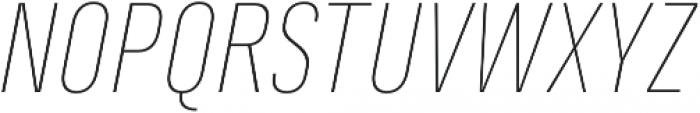 Marianina FY Thin Italic otf (100) Font UPPERCASE