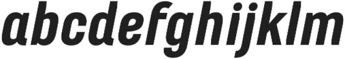 Marianina Wd FY Black Italic otf (900) Font LOWERCASE