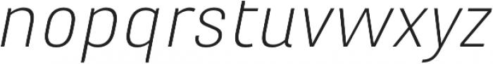 Marianina XWd FY Light Italic otf (300) Font LOWERCASE