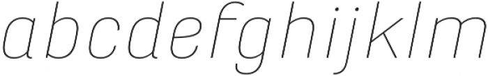 Marianina XWd FY Thin Italic otf (100) Font LOWERCASE