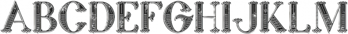 Marin Victorian Grunge otf (400) Font LOWERCASE