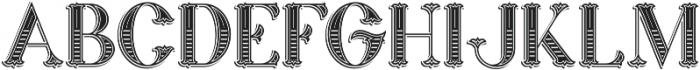 Marin Victorian otf (400) Font UPPERCASE
