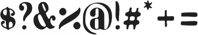 Marinaio Serif otf (400) Font OTHER CHARS
