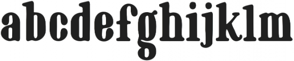 Marinaio Serif otf (700) Font LOWERCASE