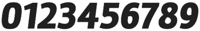 Marine Black Italic otf (900) Font OTHER CHARS