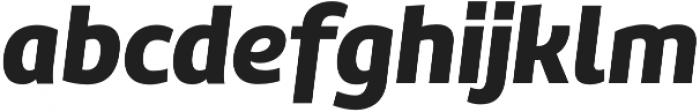 Marine Black Italic otf (900) Font LOWERCASE
