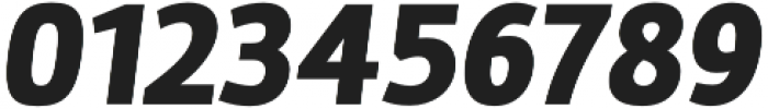 Marine Black Oblicua otf (900) Font OTHER CHARS