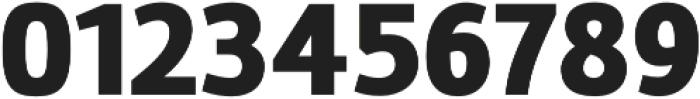 Marine Black otf (900) Font OTHER CHARS