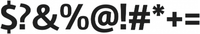 Marine Bold otf (700) Font OTHER CHARS