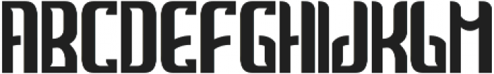 MarineRum base otf (400) Font UPPERCASE