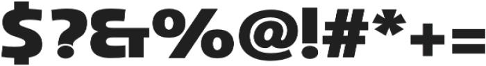 Marintas Black otf (900) Font OTHER CHARS