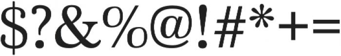 Marion Regular otf (400) Font OTHER CHARS