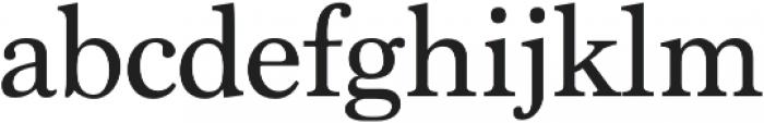 Marion Regular otf (400) Font LOWERCASE