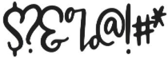 Marisol Regular otf (400) Font OTHER CHARS