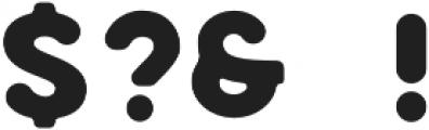 Marison Sans Round otf (400) Font OTHER CHARS