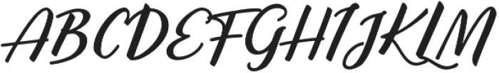 Mark the Date otf (400) Font UPPERCASE