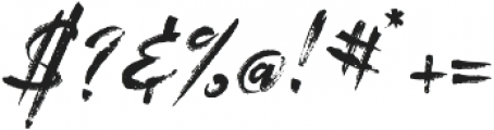 MarkerScript otf (400) Font OTHER CHARS