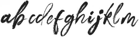 MarkerScript otf (400) Font LOWERCASE
