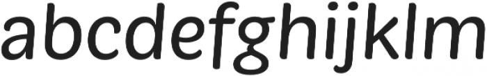 Market otf (400) Font LOWERCASE