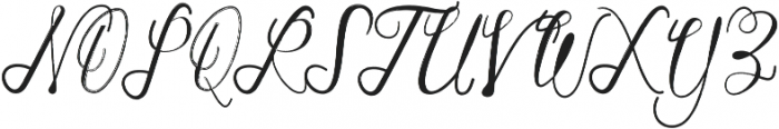 Markisha Brush ttf (400) Font UPPERCASE