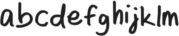 Marko Regular otf (400) Font LOWERCASE