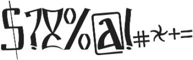 Markre ttf (400) Font OTHER CHARS