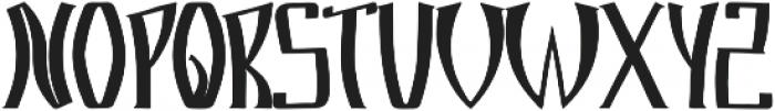 Markre ttf (400) Font UPPERCASE