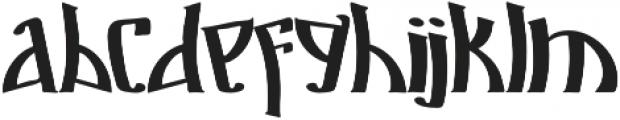 Markre ttf (400) Font LOWERCASE