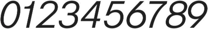 Marlin Geo SQ Semi Light Italic otf (300) Font OTHER CHARS