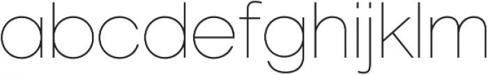 Marlin Geo SQ Thin otf (100) Font LOWERCASE