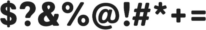 Marlin Soft Extra Bold otf (700) Font OTHER CHARS