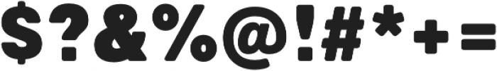 Marlin Soft SQ Extra Black otf (900) Font OTHER CHARS