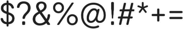 Marlin Soft SQ Semi Light otf (300) Font OTHER CHARS