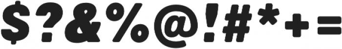 Marlin Soft SQ Slant Extra Black otf (900) Font OTHER CHARS