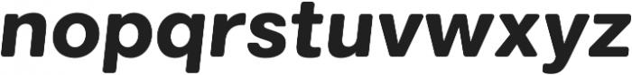Marlin Soft Slant Extra Bold otf (700) Font LOWERCASE