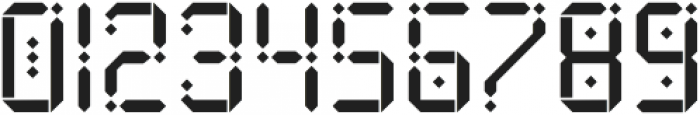 Maroque Stencil Regular otf (400) Font OTHER CHARS