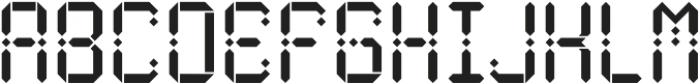 Maroque Stencil Regular otf (400) Font UPPERCASE