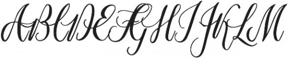 Marpesia otf (400) Font UPPERCASE