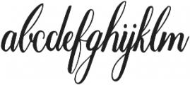 Marpesia otf (400) Font LOWERCASE