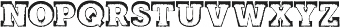 MarqueeOne otf (400) Font LOWERCASE