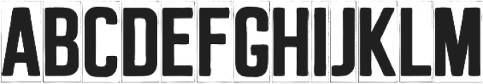 MarqueeThree otf (400) Font LOWERCASE