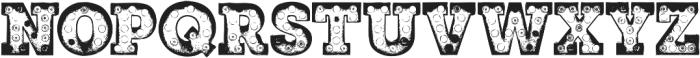 MarqueeTwo otf (400) Font LOWERCASE