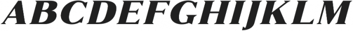 Marques otf (400) Font LOWERCASE