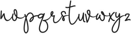 Marrisa ttf (400) Font LOWERCASE