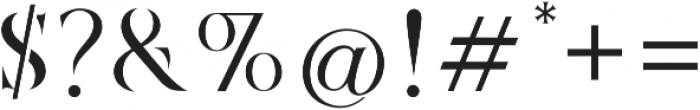 Marschel Stencil otf (400) Font OTHER CHARS