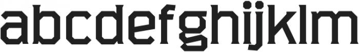 Marshal Extended Regular otf (400) Font LOWERCASE