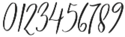 Marsya Script Regular otf (400) Font OTHER CHARS