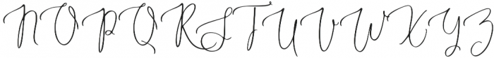 Marsya Script Regular otf (400) Font UPPERCASE