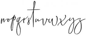 Marsya Script Regular otf (400) Font LOWERCASE
