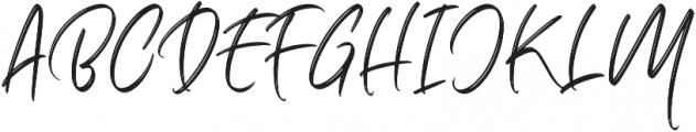 Marthiline Regular otf (400) Font UPPERCASE